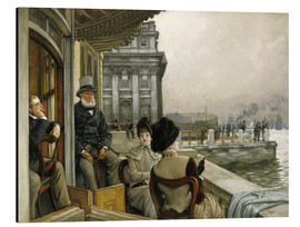 Alubild  Trafalgar Tavern, Greenwich - James  Tissot