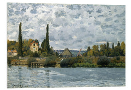 Forex  Seine in Bougival - Alfred Sisley