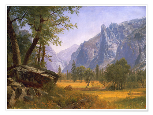 Premium-Poster Yosemite Valley