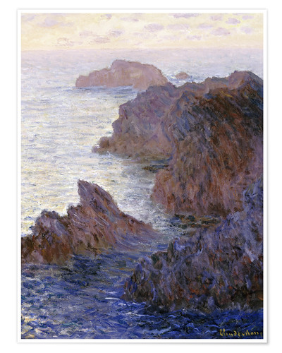 Premium-Poster Point de Rochers, Port-Goulphar