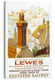 Leinwandbild  Come see and admire Lewes - Gregory Brown