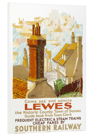 Hartschaumbild  Come see and admire Lewes - Gregory Brown
