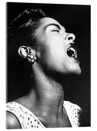 Acrylglasbild  Billie Holiday
