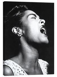 Leinwandbild  Billie Holiday