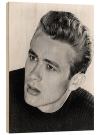 Holzbild  James Dean