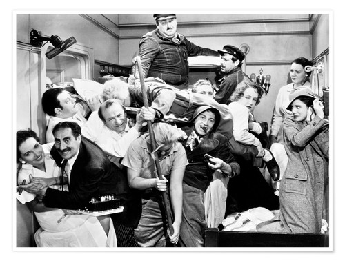 Premium-Poster The Marx Brothers, 1935