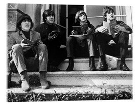 Acrylglas  Die Beatles, 1965