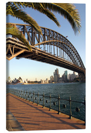 Leinwandbild  Sydney Harbour Bridge - David Wall