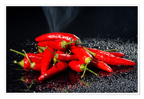 Premium-Poster Chili - Hot Stuff