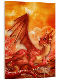 Dolphins DreamDesign - Roter Power Drache