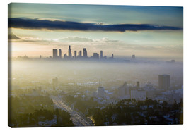 Walter Bibikow - Los Angeles Skyline im Morgennebel
