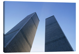 Leinwandbild  Twin Towers des WTC - Sue Cunningham