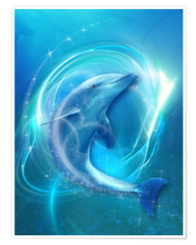 Poster  Delfin Energie - Dolphins DreamDesign