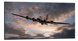 Alubild  The Flying Fortress - airpowerart