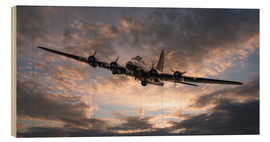 Holzbild  The Flying Fortress - airpowerart