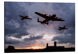 Alu-Dibond  Sunset Memorial - airpowerart