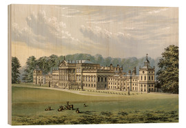 Holzbild  Wentworth Woodhouse - Alexander Francis Lydon