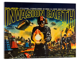 Acrylglasbild  Daleks' Invasion Earth 2150 A.D.