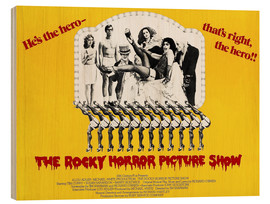 Holzbild  The Rocky Horror Picture Show