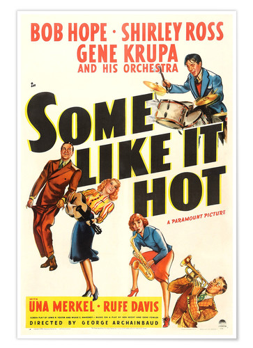 Premium-Poster Some Like It Hot