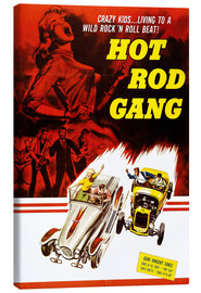 Leinwandbild  HOT ROD GANG