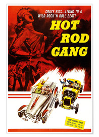 Premium-Poster Hot Rod Gang