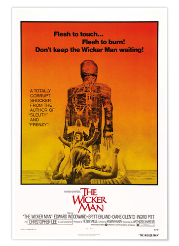 Premium-Poster The Wicker Man