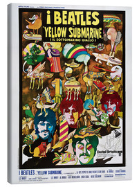 Leinwandbild  The Beatles - Yellow Submarine (italienisch)