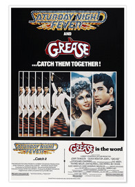 Premium-Poster  Saturday Night Fever - Grease