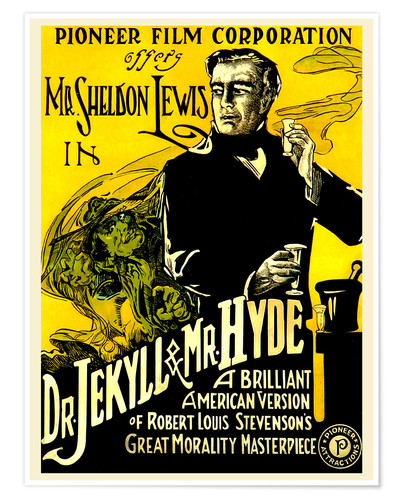Premium-Poster Dr. Jekyll and Mr. Hyde