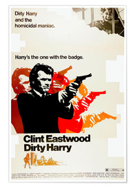 Premium-Poster  Dirty Harry