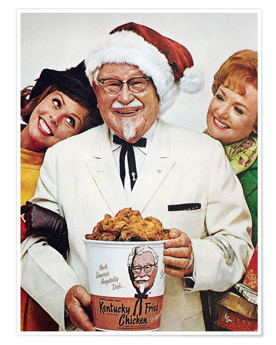 Premium-Poster Kentucky Fried Chicken