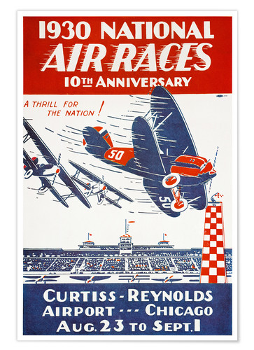 Premium-Poster Air Races