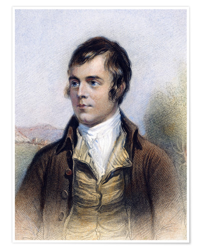 Premium-Poster Robert Burns