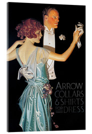 Acrylglasbild  Arrow Collars - Joseph Christian Leyendecker