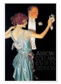 Premium-Poster  Arrow Collars - Joseph Christian Leyendecker