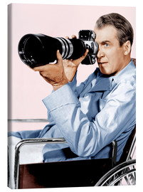 Leinwandbild  REAR WINDOW, James Stewart, 1954