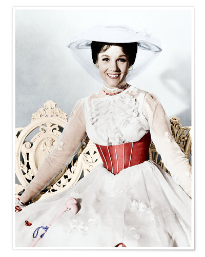 Premium-Poster Julie Andrews als Mary Poppins