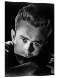 Hartschaumbild  James Dean