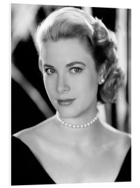 Hartschaumbild  Grace Kelly, 1953
