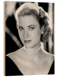 Holzbild  Grace Kelly, 1953