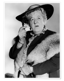 Premium-Poster Margaret Rutherford