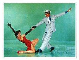 Premium-Poster THE BAND WAGON, Cyd Charisse, Fred Astaire, 1953