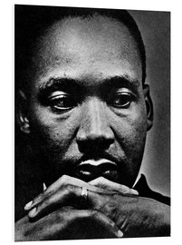 Hartschaumbild  Martin Luther King Jr.