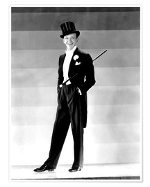 Premium-Poster Fred Astaire, 1930