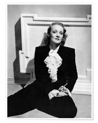Premium-Poster Marlene Dietrich, ca. early 1940s