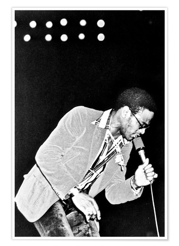 Premium-Poster Al Green onstage