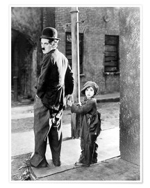 THE KID, Charles Chaplin, Jackie Coogan