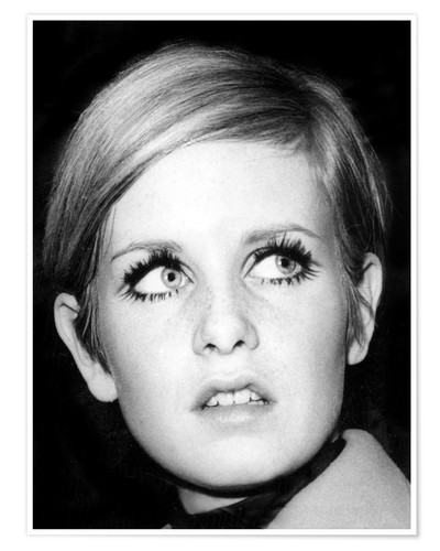 Premium-Poster Twiggy (Leslie Hornby)