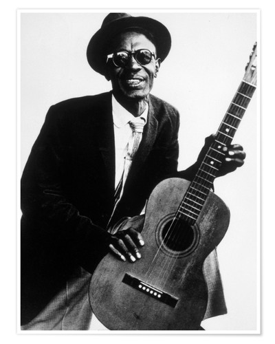 Premium-Poster Lightnin' Hopkins